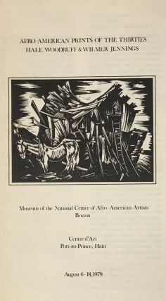 """Hale Woodruff: 50 Years of His Art; with """"Head of a Youth"""" (original signed woodcut); with: related ephemera"""