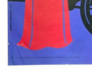 Serigraph poster for the Santa Fe Opera recording of The Mother of Us All