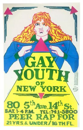 Gay Youth of New York . . . Peer Rap for 21 Yrs. & Under